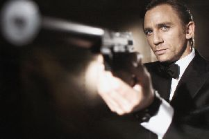 Daniel Craig as James Bond in Casino Royale. Picture:Greg Williams/Eon Productions via Getty Images