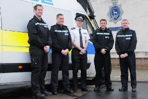 The SPOST team, which is made up of volunteer police officers