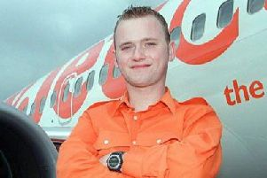 Leo pictured during his time on Airline