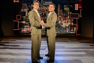 Mathew Horne and Ed Speleers in Rain Man