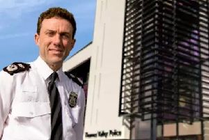 Francis Habgood, who is retiring as Chief Constable of Thames Valley Police in March 2019