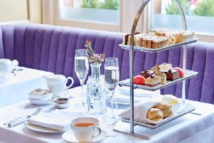 Afternoon tea is a luxurious treat