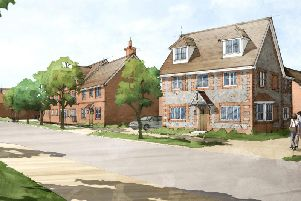 Artist's impression of the development