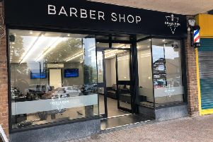 Chaulden Barber Shop has created a 'safe place' for the public
