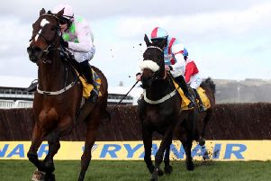 Min and Paul Townend on their way to winning the Grade 1 Ryanair Chase
