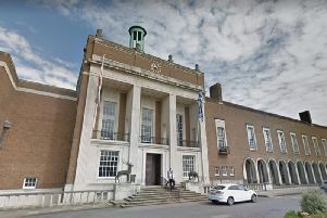 Hertfordshire County Council office. (C) Google Maps