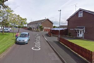 Coolnafranky housing estate in Cookstown