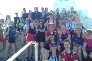 Twenty one Year 14 students from Holy Trinity College, Cookstown and pupils from St Patrick's Academy, Dungannon. set off on pilgrimage to the Marian shrine of Medjugorje, Herzegovina,