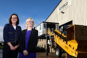 Alison Gowdy, Director of Trade, Invest NI, pictured left, with Anne McKiver, Managing Director, Kiverco.