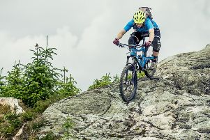 Mountain bikers give Davagh a thumbs up