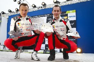 VIDEO: Meeke holds fourth after Rally Sweden