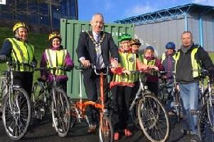 New cycling scheme a hit with all age groups