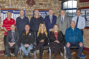 Representatives of the new Coalisland Town Centre Forum are pictured at the first meeting
