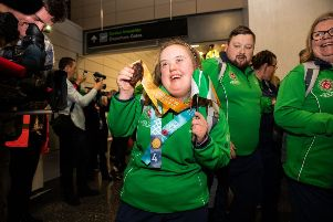 Shannon Nixon (21) from Coalisland scooped a Bronze medal in Athletics, 25m run