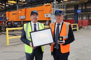Tyrone firm recognised for exporting success