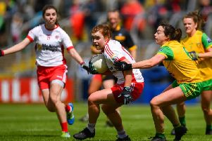 Action from Tyrone v Donegal