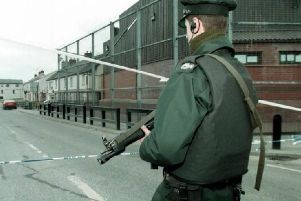 The bomb attack took place at Coalisland RUC station in March 1997