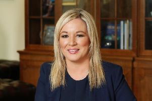 Sinn Fein Vice President Michelle O'Neill has called on the EU to press for a united Ireland as an alternative to Brexit. ''Photo: Kelvin Boyes / Press Eye.