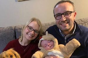 Premature baby parents 'want to give a little back' to neonatal unit