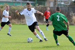 Ryan Billington was on the mark for Westlea Wanderers in their 7-3 Unison Challenge Cup win over AFC Warwick.