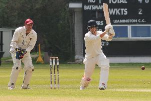 Nick Couzens made an excellent 73 in Leamington 2nds' rain-affected clash with Brockhampton 2nds.