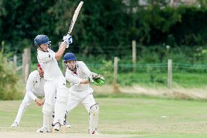 James Sood on his way to 25 against Oakfield & Rowlands on Saturday. Picture: Mike Baker
