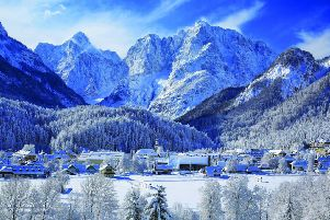 Pictures from Jan Henderson's visit to  Kranjska Gora