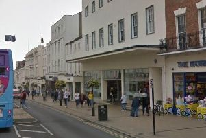 The site of the robbery. Photo: Google Maps.