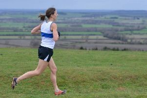 Leamington C&AC's Kelly Edwards in action at Burton Dassett Hills Country Park. Pictures Rob Egan unless stated.