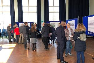Residents had the opportunity to view proposals for the new Kenilworth School and Sixth Form. Photo supplied.