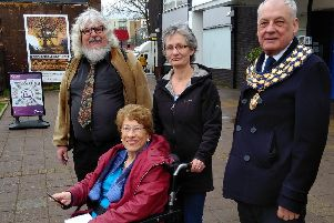Kenilworth mayor Cllr Mike Hitchins and councillors Felicity Bunker and Kate Dickson took part in the exercise, alongside resident Chris Edgerton