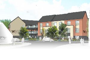 The proposed design for Woodside care home in Warwick. Photo by WCS Care.