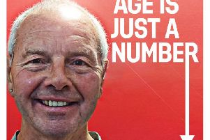 Everyone Active's Age is just a Number campaign poster