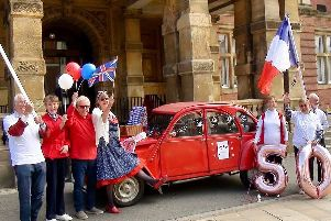 Leamington Town Council is celebrating the 50th anniversary of the town's twinning with Sceaux in France.