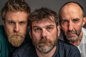 Andrew Callum, Samuel Wall and Mark Plastow in Someone Who'll Watch Over Me