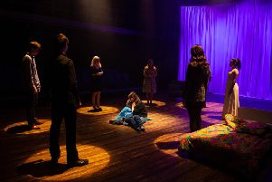 Playbox Theatre presents Medea. Picture: Lucy Barriball