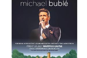 Michael Buble is coming to Warwick Castle. Photo by Warwick Castle