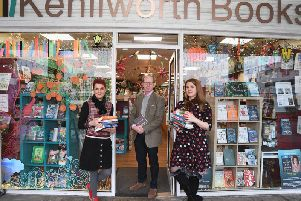Judy Brook, Hugo Hawkings, and Tamsin Rosewell of Kenilworth Books