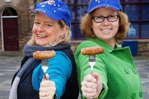 Katherine Attreed and Tina Smith invite you to their Sausage Sizzle in Market Square on Saturday. Photo by David Fawbert Photography.