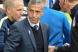 Chris Hughton. Picture by Phil Westlake (PW Sporting Photography)