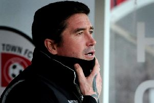 Crawley Town FC v Stevenage FC  Harry Kewell. Pic Steve Robards 30-12-17. SR1735737 SUS-171230-180512001