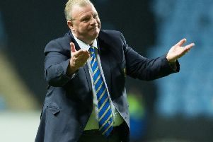 Steve Evans is a familiar face at Crawley Town