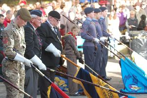 Last year's Horsham Remembrance Sunday
