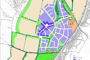 P1 will see 750 homes built in the north-east part of the land. From planning documents