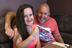 Maisie Doswell was diagnosed with the rare genetic condition Myhre syndrome two and a half years ago