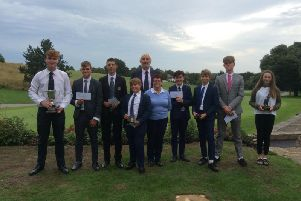 Worthing Golf Club welcomed young talents from a cross the south for'the junior open boys and girls competitions