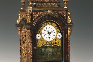 A late 18th century automaton clock by James Cox.