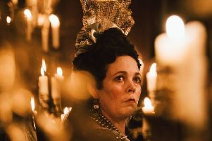Olivia Coleman in The Favourite