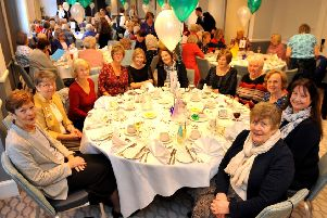 More than 80 members from 30 WIs gathered for the West Sussex Federation of Women's Institutes centenary lunch. Picture: Steve Robards SR1902557
