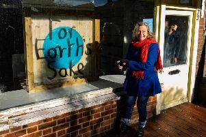 Vanessa Ford-Robbins, owner of For Earth's Sake - a new zero-waste, plastic-free set to open in Cranleigh SUS-191102-163039001